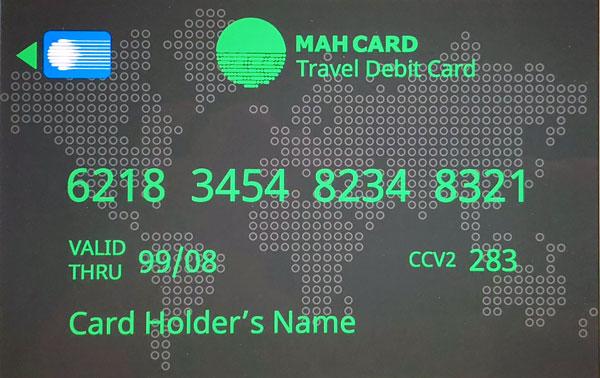 MahCard - Debit Card
